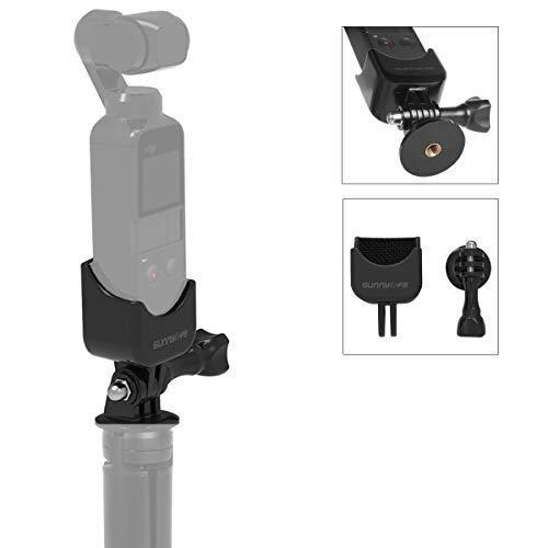 """Flycoo Support Adapter + 1/4\""""Schraubsockel für DJI OSMO Pocket Kamera Adapter Stecker für Stativ Einbeinstativ"""