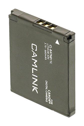 Eurosell - Premium Ersatz Lithium Ionen Akku Accu - Wiederaufladbare Batterie 3.7 V 660 mAh - zb für Canon ® PowerShot ELPH 110 HS A2300 A2400 IS A3400 IS A4000 IS ELPH 320 HS