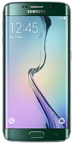 Samsung Galaxy S6 Edge Smartphone (5,1 Zoll (12,9 cm) Touch-Display, 32 GB Speicher, Android 5.0) grün