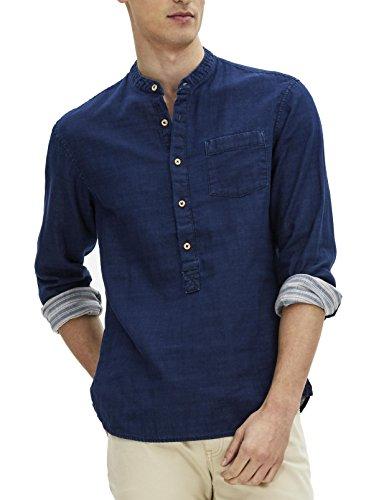 Celio Herren Businesshemd Gamaodou Blau (Marineblau)