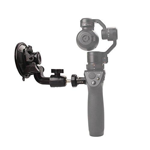 Hensych® Auto Halter für DJI Osmo, Fahrzeug Halterung Saugnapf Basis für DJI OSMO Handheld 4 Karat Gimbal Kamera