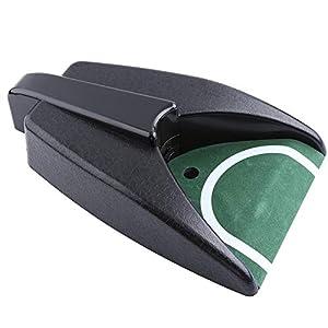Alomejor 1 Stück Golf Automatische Putting Cup Return Maschine Golf Training Putting Loch Auto Returning Golf Cup für…