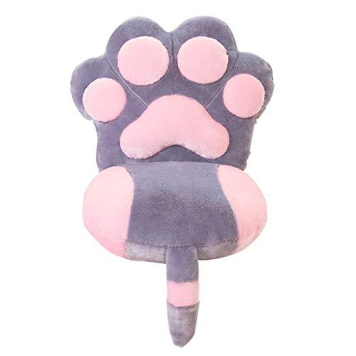 Siyushop Cute Chair Kissen Kissen EIN Mädchen Herz Student Klassenzimmer Stuhl Kissen Zurück Winter Ass Pad Hocker Mat (Color : 1) - Herz-zurück-stuhl