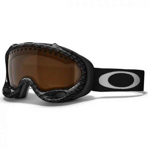 Oakley Skibrille A-Frame, true carbon fiber w/black iridium, 01-830