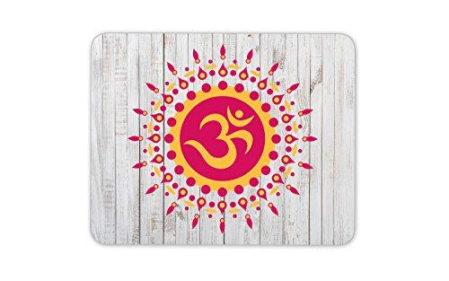 Hübsche OM Aum Symbol Mauspad Pad - Hinduismus Buddhismus Geschenk PC Computer # 4123