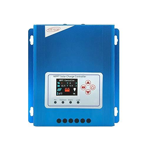 BFHCVDF LCD Display 30A MPPT Solar Panel Charge & Discharge Controller 12V/24V/48V Blue
