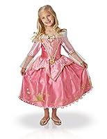 Questo travestimento da principessa Aurora rappresenta labito del ballo della Bella Addormentata del bosco ed è un articolo ufficiale Disney.Si tratta di un bellissimo vestito di raso rosa, con scollo a barca e maniche lunghe che terminano co...