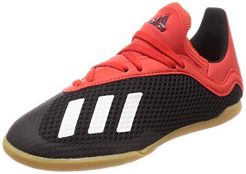 adidas Kinder Fussballschuhe X 18.3 IN J CBLACK/Owhite/ACTRED 35