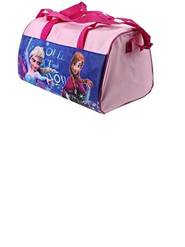 FROZEN Die Eiskönigin Anna Elsa Sporttasche Reisetasche Schultertasche rosa pink (pink) rosa