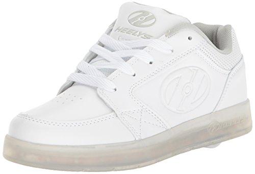 Heelys Unisex-Kinder Fitnessschuhe, Weiß (Triple White 000), 32 EU