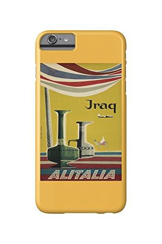 alitalia-iraq-vintage-poster-artist-molinari-italy-c-1955-iphone-6-plus-cell-phone-case-slim-barely-