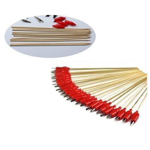 Elife 50PCS Alligator Clip Stick für die Airbrush Hobby Modell Teile