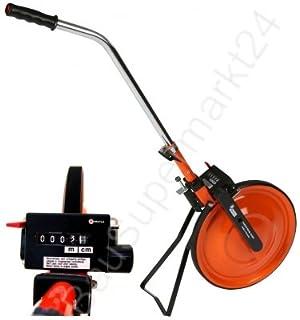 LCJJXLK Entfernungsmessrad Griff Mechanisches Messrad Messr/äder Maximale Messentfernung 99999,9 Meter Raddurchmesser 318mm