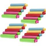 Shuny 20 Pezzi Regolabile Clip di Gesso Plastica Gessetto,Portagesso in Plastica,Clip di Gesso Colorato per la Pittura, Insegnamento