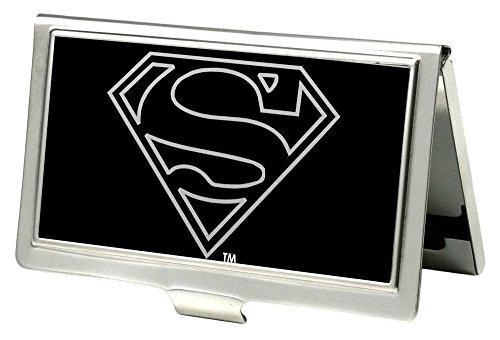 artenhalter DC Comics Small Superman Outline Reverse Brushed ()