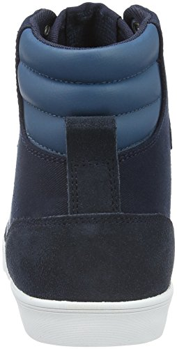 Hummel Slimmer Stadil Duo Canvas High, Sneakers Hautes Mixte Adulte Bleu (Total Eclipse)