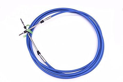 Aba-cable-20-gy Moteur hors Bord télécommande d'accélérateur Shift câble 6,1m pour Yamaha Bateau Moteur volant System 6.10m