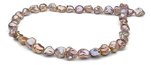 De mujeres perla paraíso 18 Color rosa collar perla