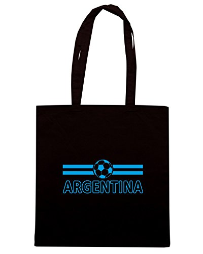 T-Shirtshock - Borsa Shopping WC0016 ARGENTINA Nero