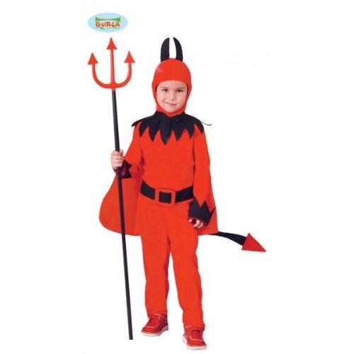 Größe (10-12 Jahre alt) (Disfraz Demonio Halloween)