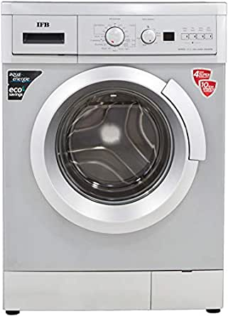 IFB 6.5 kg Fully-Automatic Front Loading Washing Machine (Serena Aqua SXA LDT, Silver)