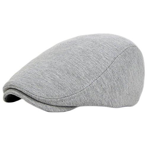 Leisial Sombreros Gorras Boinas Algodón Ocio Retro