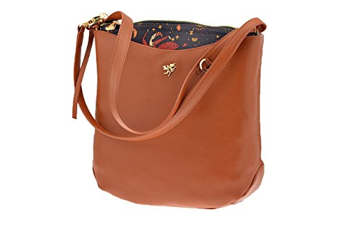 Borsa PIERO GUIDI Magic Circus - Classic leather Donna - 211571082-11 Cuoio