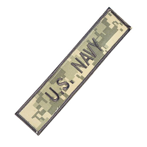 us-marina-navy-usn-name-tape-acu-ecwcs-ricamata-ricamo-militare-velcro-toppa-patch