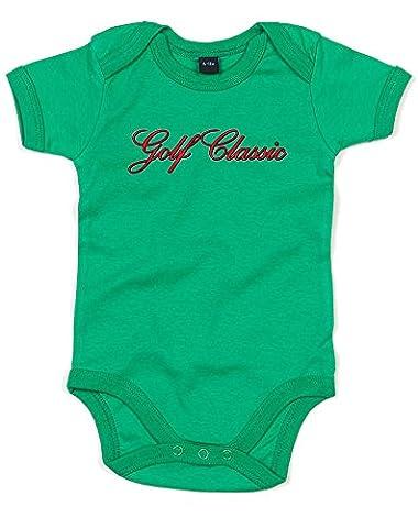 Golf Classic, Imprimé bébé grandir - Vert/Transfert 12-18 Mois