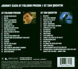 At San Quentin & At Folsom Prison [2 CD]