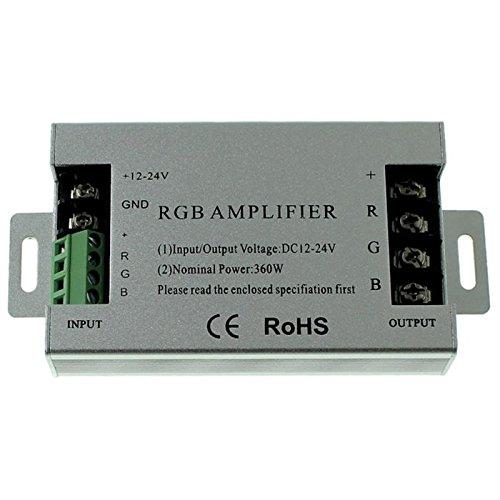 RGB LED Signal Power Amplifier 360W 12V / 720W 24V - 30A