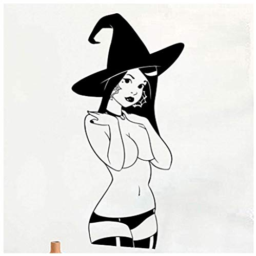 Sexy Halloween Co - Halloween Vinyl Wall Applique Sexy Witch