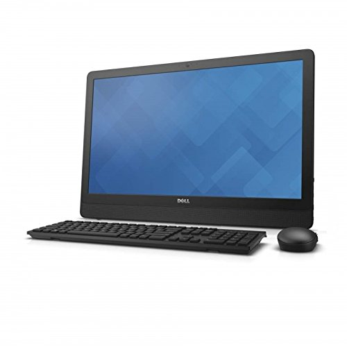 Dell New Inspiron All-In-One 20 3464 24-inch Laptop (Core i3-7100U 2.3 GHz/7th Gen/4GB/1TB), Black