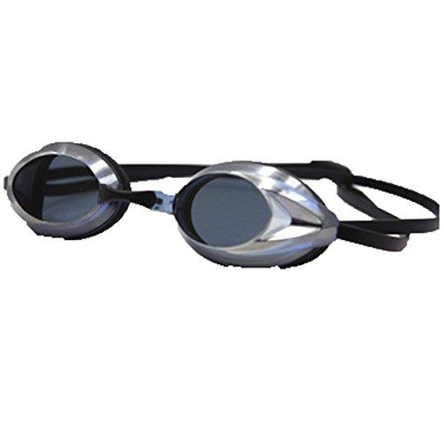 Buntes Lila Erwachsener Professionelle HD Ausrüstung Silikon Anti-Fog-Brille Galvanik,Silver (Galvanik Ausrüstung)