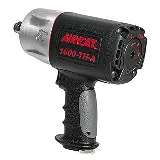AIRCAT 1600-TH-A 3/4 Drive Composite Impact Wrench, Medium, Black & silver by AirCat