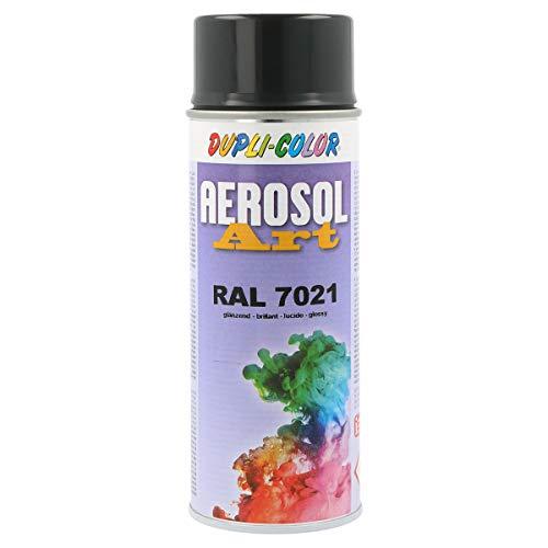 Dupli-Color 741296 Aerosol Art Ral 7021 glänzend 400 ml