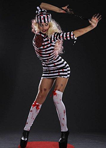n Horror Zombie Convict Kostüm Medium (UK 12-14) ()