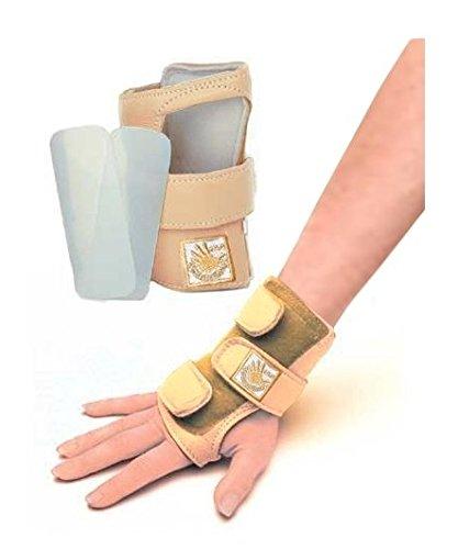 Ten O apos;Golden Hands Gymnastics Gymnastique Wrist Support (handgelenkstütze)–Sable–L Ten O