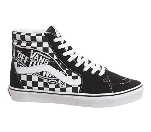 Vans Sk8 Hi Scarpa Patch Black/True White