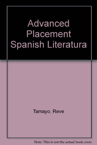 Advanced Placement Spanish Literatura