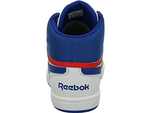 Reebok Bs7327, Scarpe da Basket bambini White/Vital Blue/Primal Red