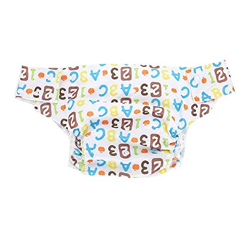 2f3e80a81f2a H.Yue Adult Cloth Diaper Reusable,Dual Opening Washable Breathable  Adjustable Incontinence Nappy Pants