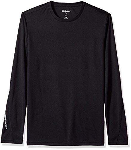 Skechers Herren Go Dri Ultra UPF 50 Long Sleeve Mock Neck Tee Golf-T-Shirt, Bold Black, X-Groß -
