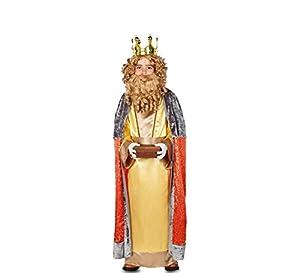 Fyasa 706344-t03Gaspar King disfraz, tamaño mediano