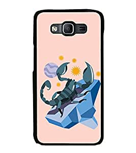 Fiobs High Glossy Designer Phone Back Case Cover Samsung Galaxy On5 Pro (2015) :: Samsung Galaxy On 5 Pro (2015) ( Scorpio Zodiac Sign )