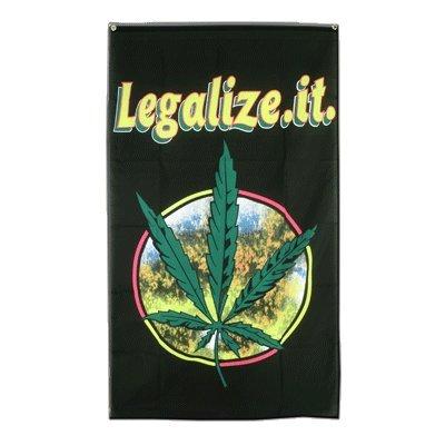 Cannabis Legalize it Flag, 3 ft. x 5 ft., MaxFlags®