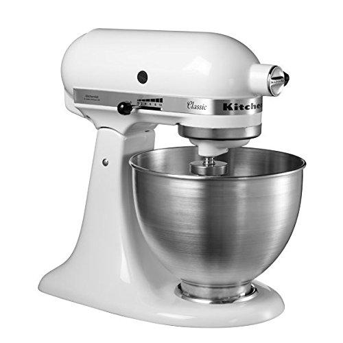 KitchenAid CLASSIC 4,3 L-Küchenmaschinen mit kippbarem Motorkopf, 4.3 L, schwarz