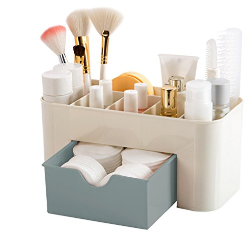 Techting Mini Makeup Storage Box Kosmetik-Kasten Lippenstift Kleine Box Desktop Organizer Schmuck...