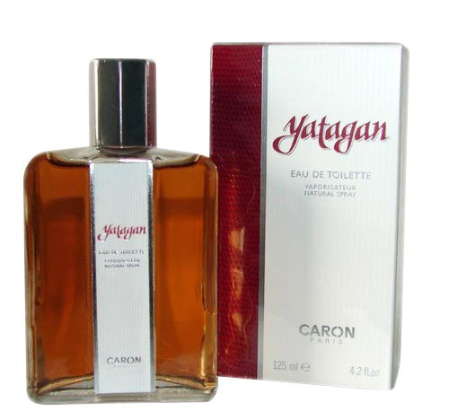 Yatagan profumo di Caron 125ml Eau de Toilette Homme.