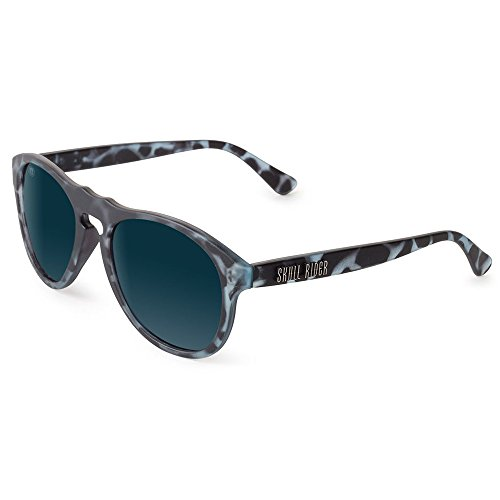 Skull Rider Herren Sonnenbrille blau Schwarz